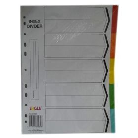 EAGLE INDEX DIVIDER 5 COLOURS
