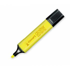 LUXOR GLOLITER PEN YELLOW