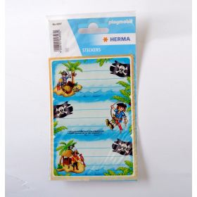 HERMA LICENCE PLAYMOBIL SCHOOL PIRATES