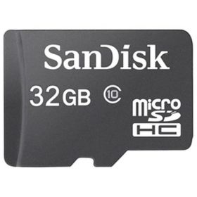 SANDISK MICRO SDHC CARD 32GB