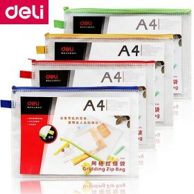 DELI 5596 A4 STORAGE ZIP BAG