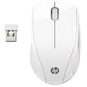 HP X3000 WIRELESS MOUSE WHITE