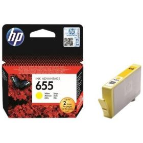 HP 655 YELLOW INK  CZ112AE