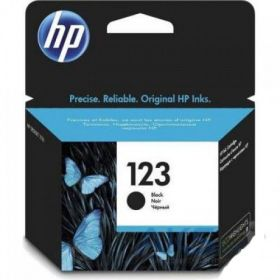 HP 123 BLACK INK CARTRIDGE F6V17AE