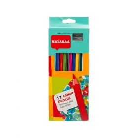 NATARAJ COLOR PENCIL LONG 12PC