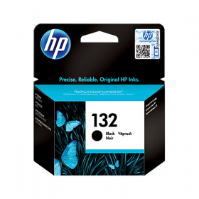 HP 132 BLACK INKJET CARTRIDGE