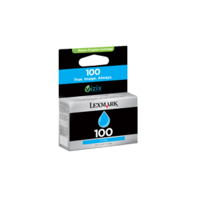 LEXMARK 100 STANDARD INK CARTRIDGE CYAN