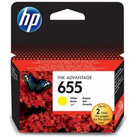 HP 655 INK CARTRIDGE YELLOW