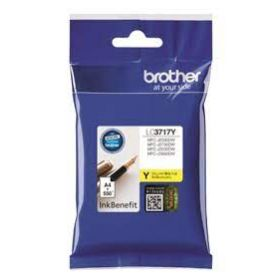 BROTHER LC3717Y INK YELLOW