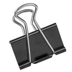 EAGLE 25MM BLACK BINDER CLIP