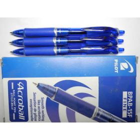 PILOT ACROBALL BLUE PEN FINE