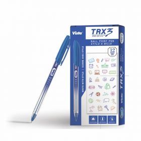 VISTA TRX3 PEN BLUE 12PCS/PACK