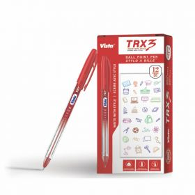 VISTA TRX3 PEN RED 12PCS/PACK