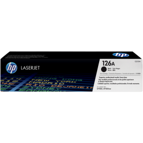 HP 126A BLACK LASERJET TONER CARTRIDGE