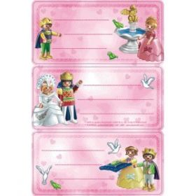 HERMA LICENCE PLAYMOBIL SCHOOL PRINCESS LABEL