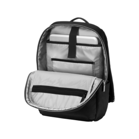 HP DUOTONE  BACKPACK BLACK/SILVER 15.6""