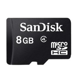 SANDISK MICRO SDHC CARD 8GB