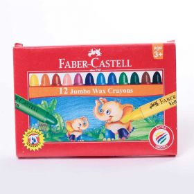 FABER CASTELL GRIP WAX CRAYON 90MM