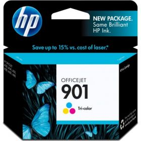 HP 901  TRI-COLOUR  INK CC656AA