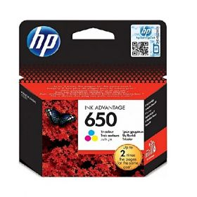 HP 650 TRI-COLOUR INK  CZ102AE