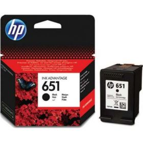 HP 651 BLACK INK  C2P10AE