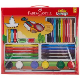 FABER CASTELL ART CART KIT ASSORTED