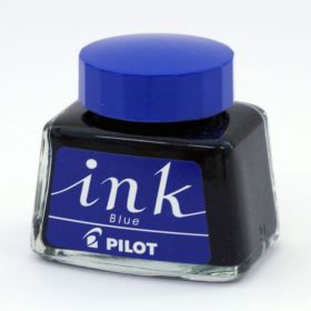 PILOT BOTTLE INK BLUE