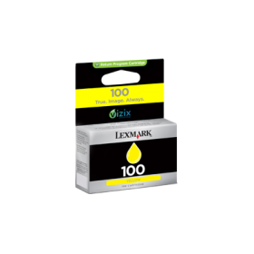 LEXMARK 100 STANDARD INK CARTRIDGE YELLOW