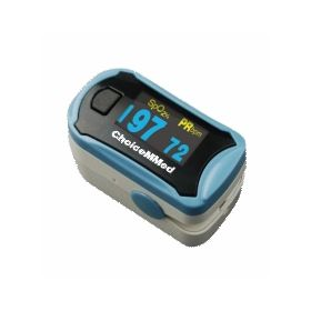 OXYMETER FINGERTIP PULSE METER WITH DUAL COLOUR DISPLAY