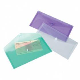 EAGLE TRANSPARENT CHEQUE WALLET