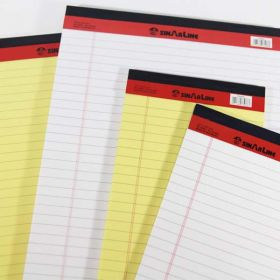 SINARLINE LEGAL PAD 5*8 40 SHEET YELLOW