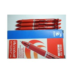 PILOT ACROBALL RED PEN FINE