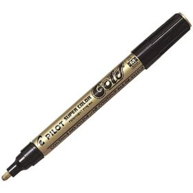 PILOT SUPER COLOUR MARKER GOLD