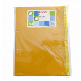 EAGLE CLEAR FOLDER BINDING SHEET